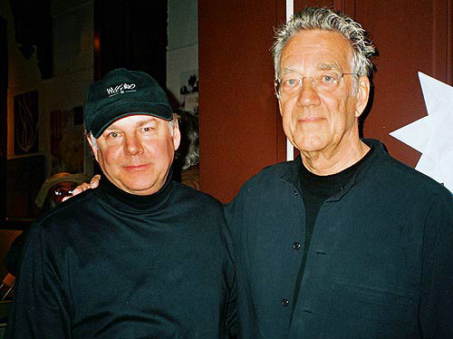 Robert with Ray Manzarek