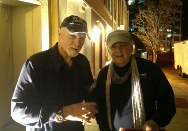 Mike Love and Robert Perala
